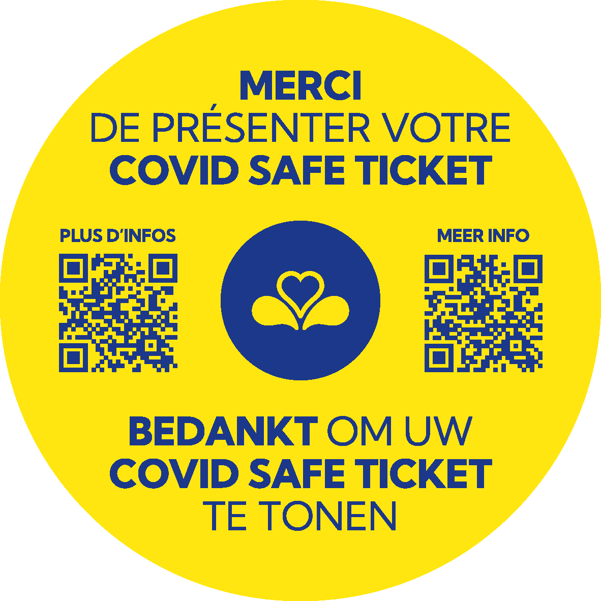 Covid Safe Ticket (CST) in Brussel